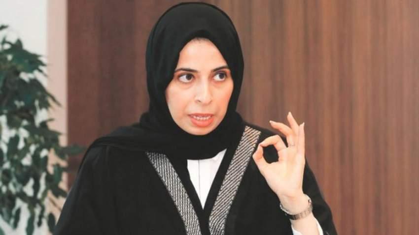 المتحدثة باسم وزارة الخارجية القطرية لولوة الخاطر.