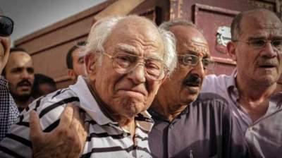 رشوان توفيق أصيب بانهيار في جنازة زوجته