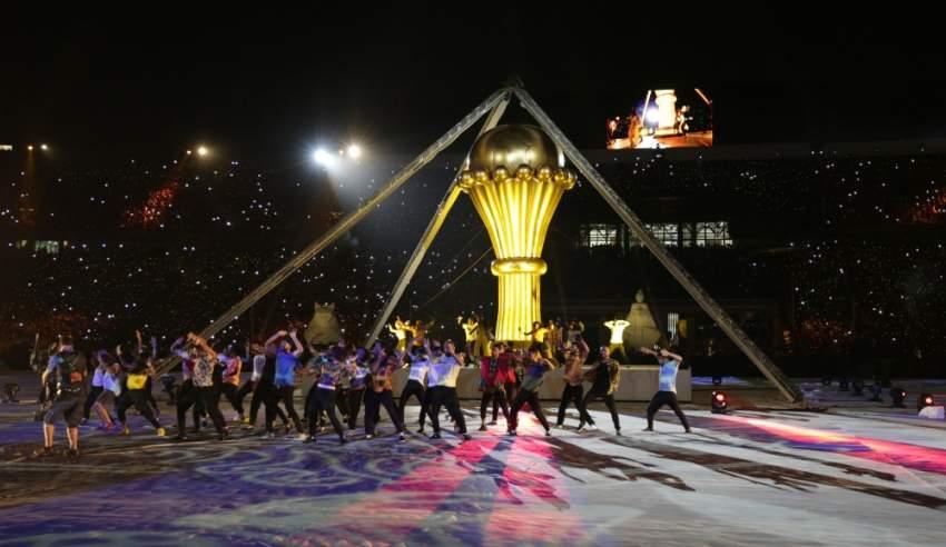 من مراسم افتتاح البطولة
