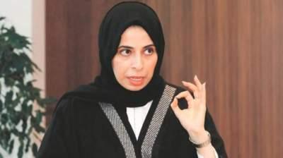 المتحدثة باسم وزارة الخارجية القطرية لولوة الخاطر