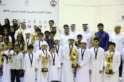 من حفل ختام بطولة الإمارات الفردية 2019