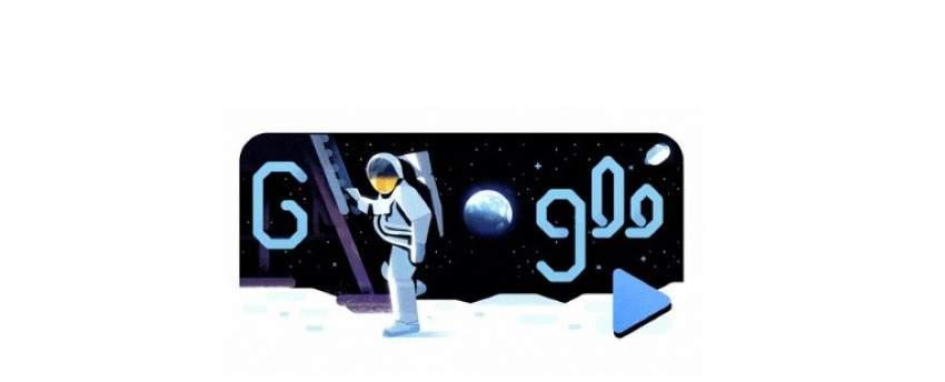 غوغل يحتفي بالذكرى الـ 50 لهبوط أول إنسان على القمر