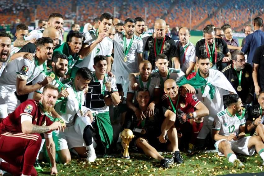 الجزائر بطلة القارة السمراء في أمم إفريقيا - رويترز