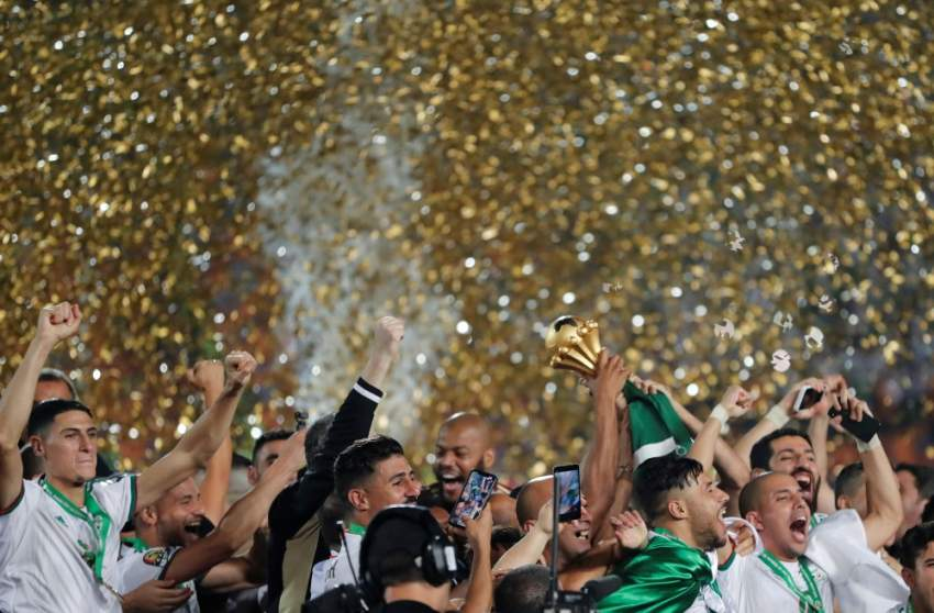 إحتفالات الفوز - رويترز