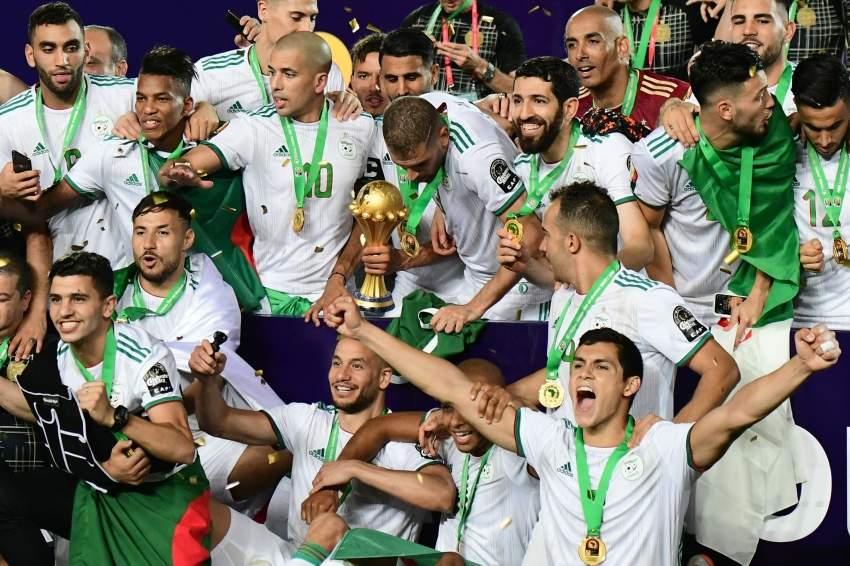 منتخب الجزائر بطل أفريقيا