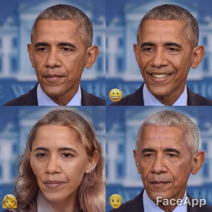 تلاعب بصورة أوباما