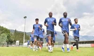 تدريبات منتخب الإمارات في النمسا