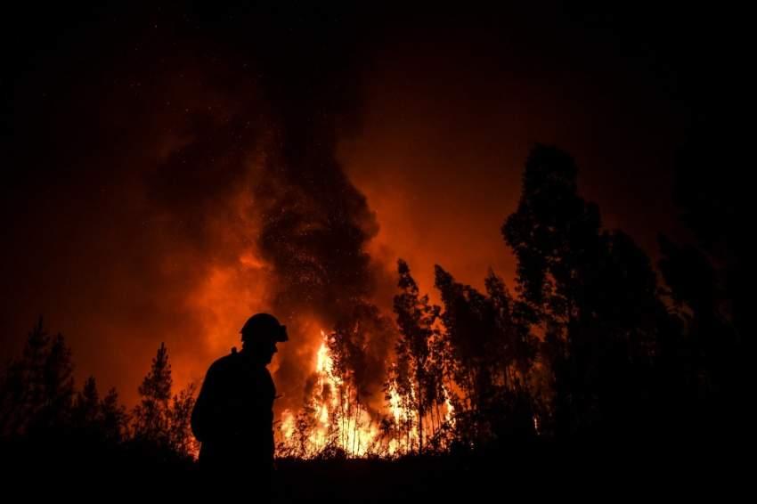 استأنفت طائرات ومروحيات مخصصة نشاطها الأحد لدعم رجال الإطفاء الذين يكافحون منذ السبت حرائق في منطقة جبلية وسط البرتغال حيث قتل أكثر من مئة شخص عام 2017.