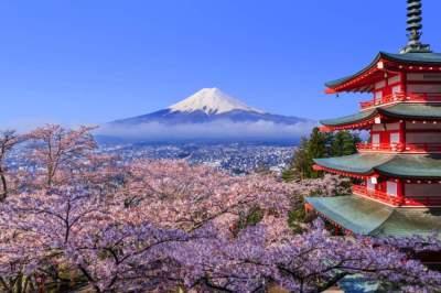 جبل «فوجي» في اليابان