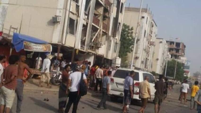 هجوم انتحاري استهدف مركزاً لقوات الأمن في عدن