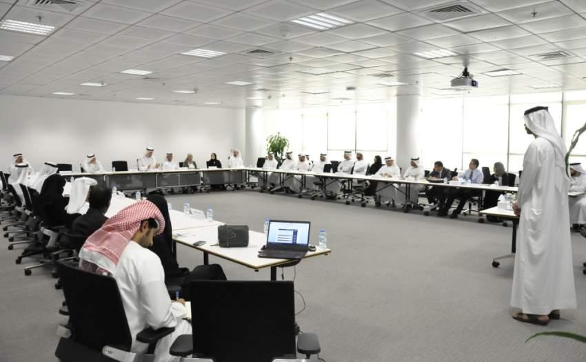 خلال الاجتماع السنوي الثاني لمجلس أبوظبي للجودة والمطابقة. (وام)