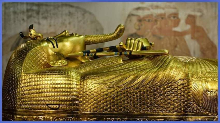 أعمال ترميم التابوت الذهبي للملك توت عنخ آمون تنطلق اليوم