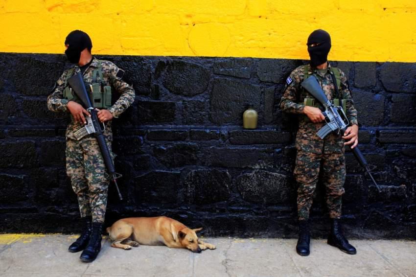 تُصنف السلفادور الدولة الأولى من حيث جرائم القتل في أمريكا الوسطى