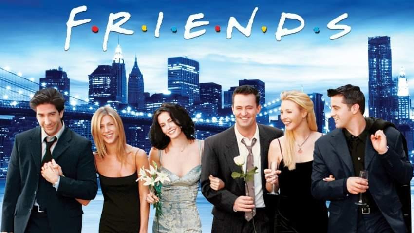 «فريندز» يتصدر قائمة المسلسلات الأكثر مشاهدة في بريطانيا