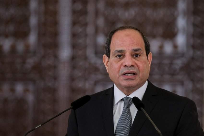 الرئيس المصري.