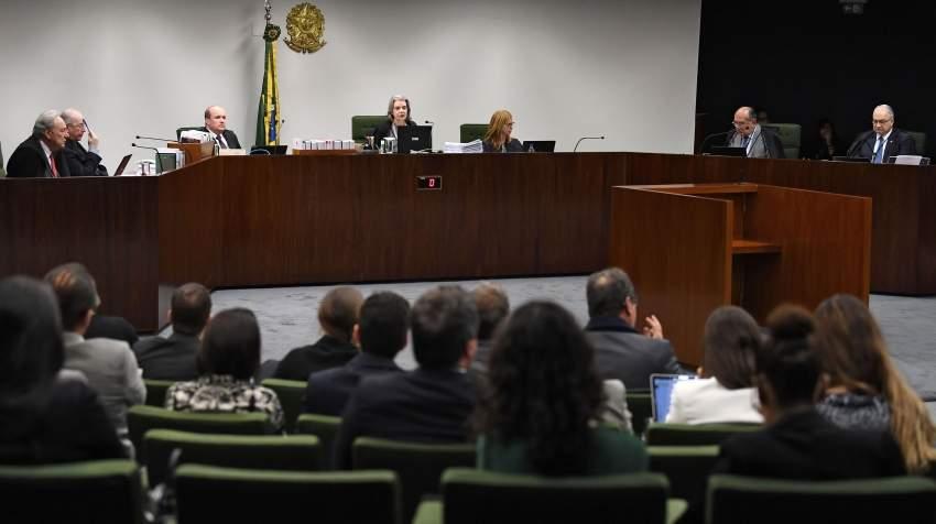 جانب من جلسة الاستماع في قضية علي سيباحي بالبرازيل.
