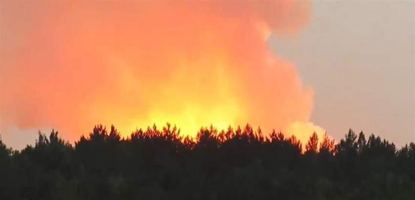اندلاع حريق في قاعدة عسكرية أقصى الشمال الروسي