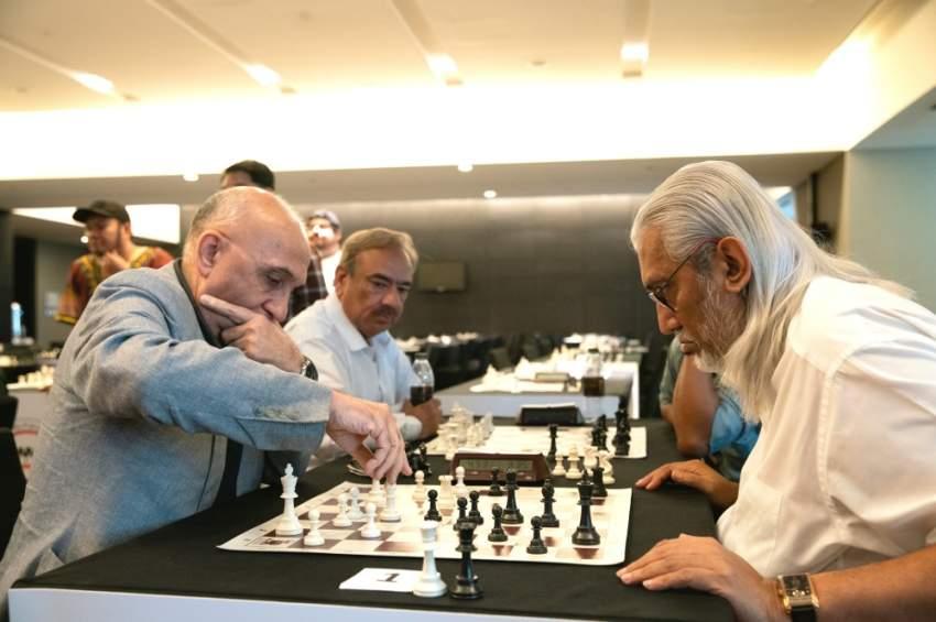 من مهرجان أبوظبي للشطرنج. (الرؤية)