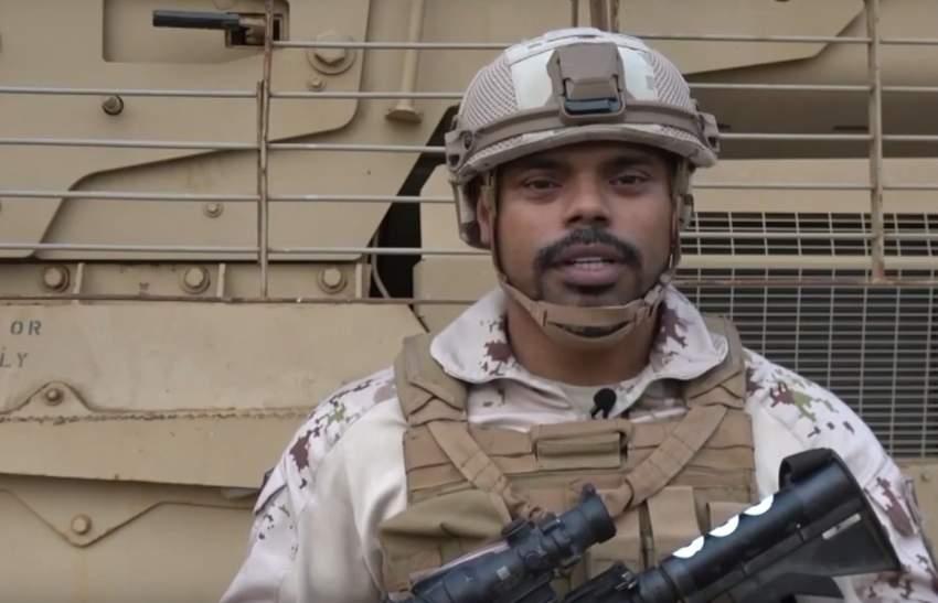 جنودنا البواسل المرابطون في اليمن يهنئون القيادة وشعب الإمارات (وام)