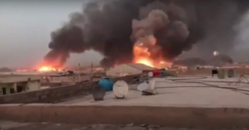 مقتل شخص وإصابة آخرين في انفجار مخزن أسلحة في بغداد