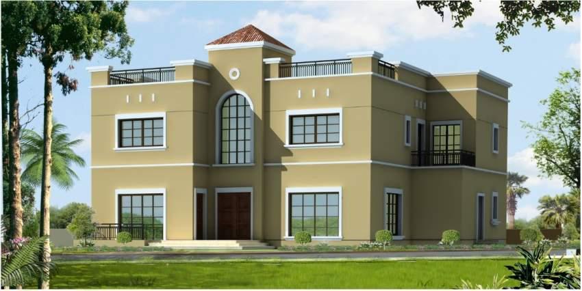 تصميم مشروع وقف الريحان في دبي. (الرؤية)