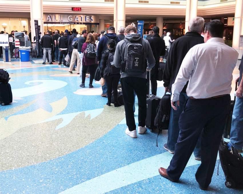 أمريكا: عطل في أنظمة إدخال بيانات المسافرين على مستوى البلاد