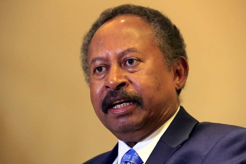 حمدوك: محادثات مع واشنطن لرفع السودان من قائمة الدول الراعية للإرهاب.