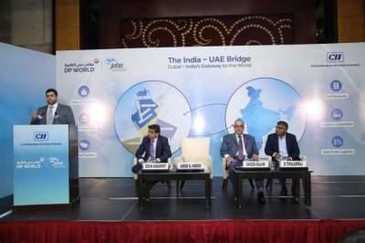 من مشاركة الإمارات في مؤتمر فود برو بالهند. (الرؤية)