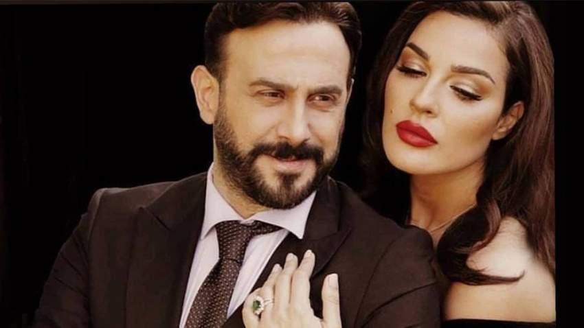 نادين نجيم وقصي خولي شكلا ثنائيا في رمضان الماضي