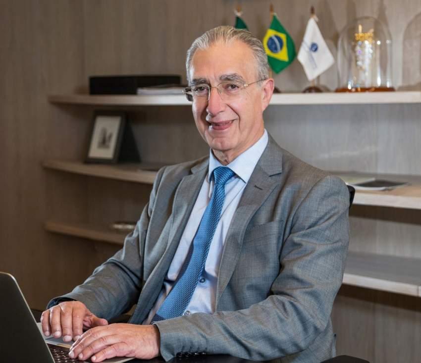 رئيس الغرفة التجارية العربية البرازيلية روبنز حنون. (الرؤية)
