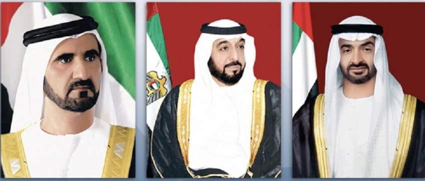 رئيس الدولة ونائبه ومحمد بن زايد يتلقون برقيات تهنئة بعيد الأضحى