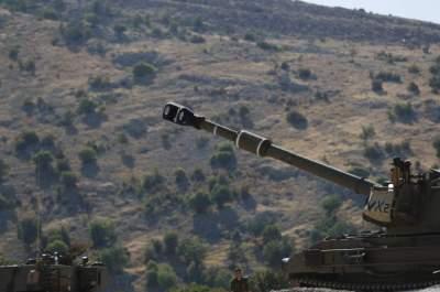 تمركز جنود الاحتلال الإسرائيلي في مرتفعات الجولان السورية.