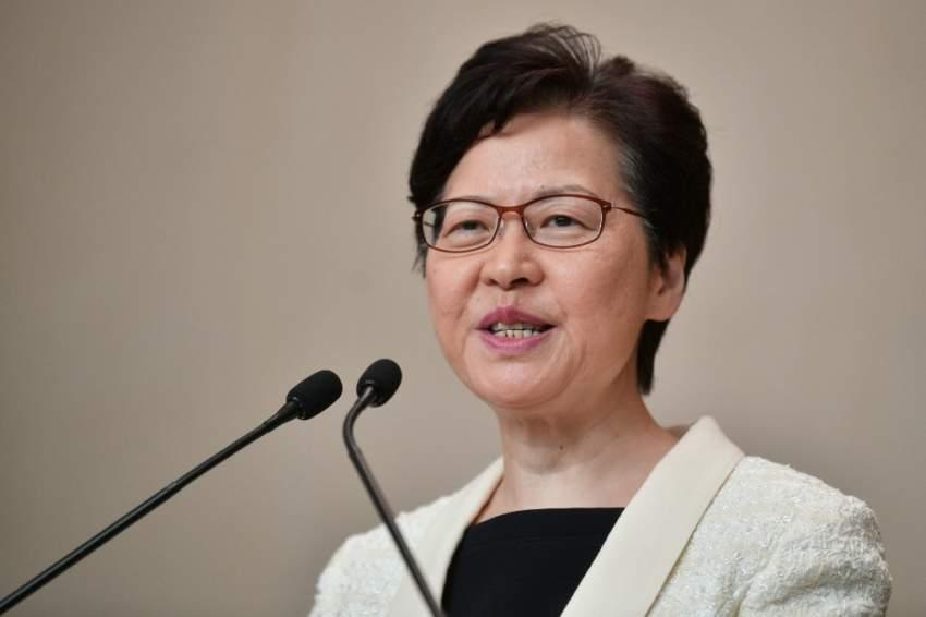 رئيسة السلطة التنفيذية في هونغ كونغ تعلن سحب مشروع قانون تسليم المطلوبين للصين