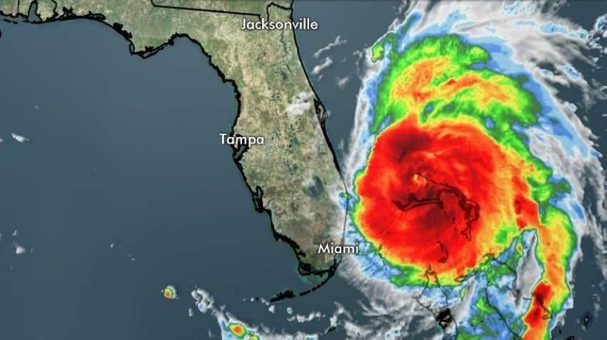 الإعصار دوريان