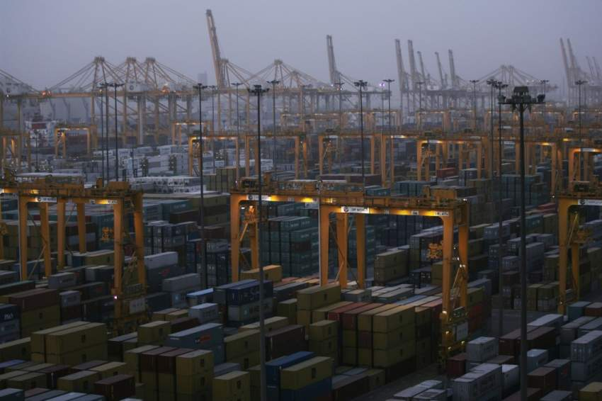 DP World Port Security, safety, health and port operations in the Port of Jebel Ali in Dubai.