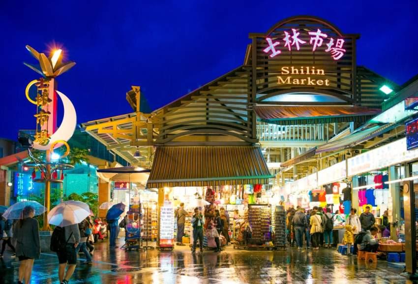 سوق شيلين الليلي - تايوان