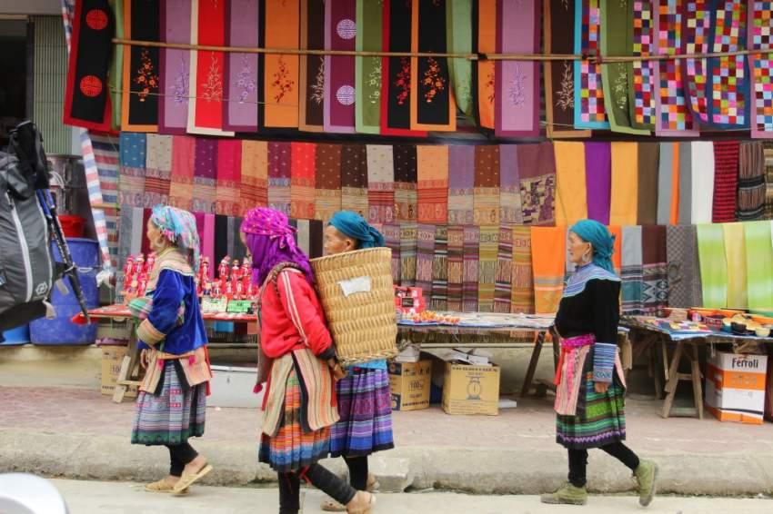 سوق باك ها - فيتنام