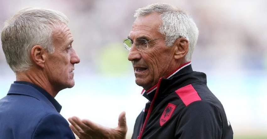 مدربا ألبانيا وفرنسا.