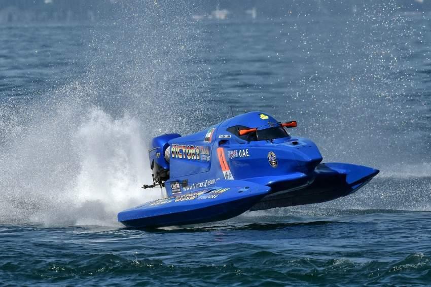 زوارق فيكتوري تيم بحلة جديدة في مونديال فورمولا1