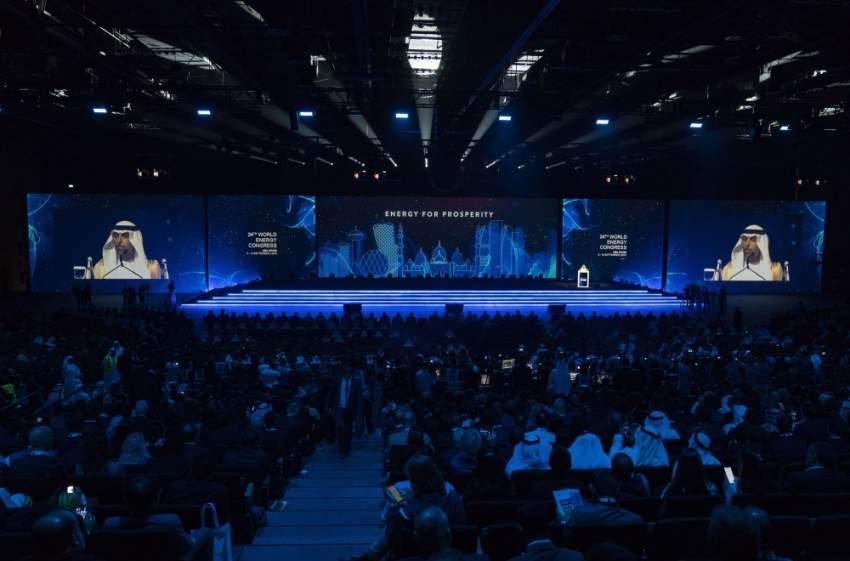 تواصل فعاليات مؤتمر الطاقة العالمي الـ 24 في أبوظبي