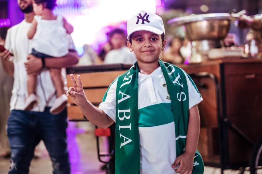 احتفالات اليوم الوطني السعودي في دبي