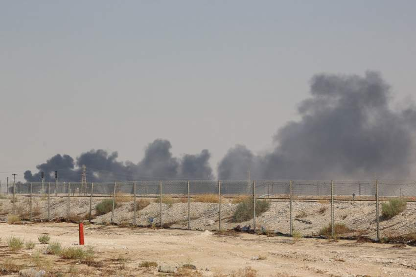 """توقف """"موقت"""" لإنتاج النفط في السعودية إثر الهجوم بطائرات مسيّرة"""