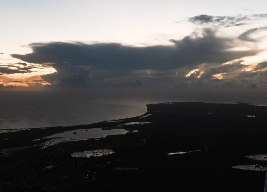 """العاصفة المدارية """"أومبرتو"""" تجتاح جزر الباهاما"""