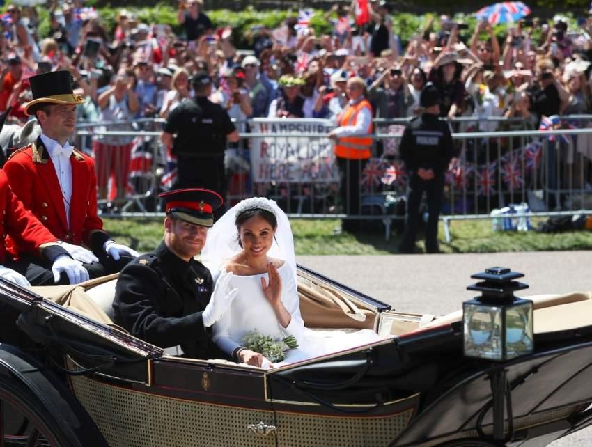 في 19 مايو 2018، تزوج الأمير هاري الممثلة الأمريكية ميغان ماركل في كنيسة القديس جورج في قلعة وندسور.