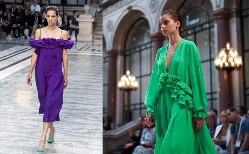 تشكيلة الفساتين الجديدة من فكتوريا بيكهام - أ ف ب
