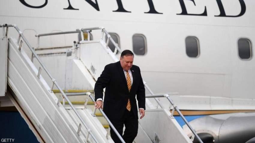 وزير الخارجية الأمريكي يصل الإمارات