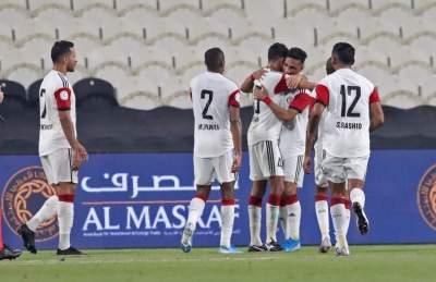 مباراة الجزيرة والظفرة في دوري الخليج العربي على استاد محمد بن زايد ابوظبي