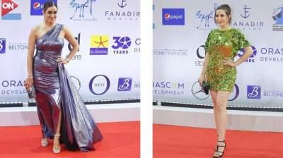اطلالات غير موفقة للنجمات في مهرجان الجونة السينمائي