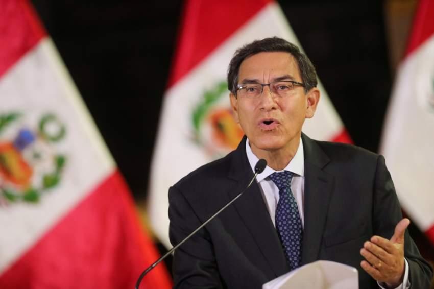 رئيس البيرو يحل البرلمان والنواب يردون بتعليق صلاحياته