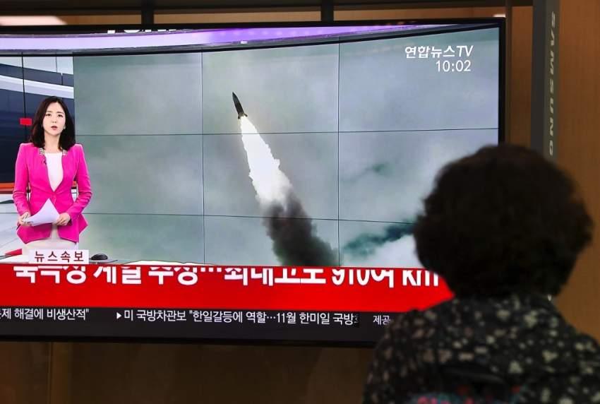 اليابان تحتج على إطلاق كوريا الشمالية صاروخين بالستيين